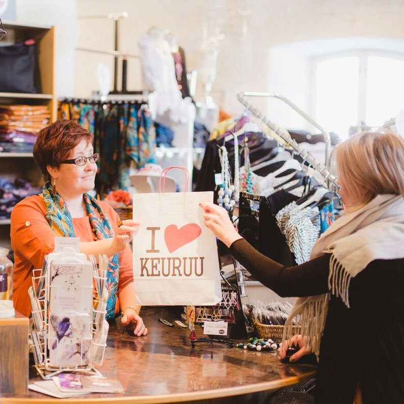 Ostoksia ja shoppailua Keuruulla